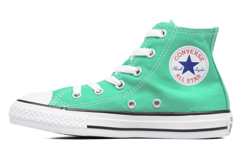 Sneaker Converse Chuck Taylor All Star Hi grün ansicht von vorne