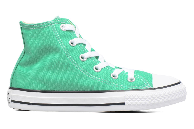 Sneaker Converse Chuck Taylor All Star Hi grün ansicht von hinten
