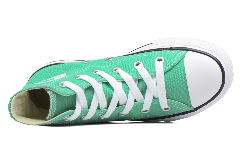 Sneaker Converse Chuck Taylor All Star Hi grün ansicht von links