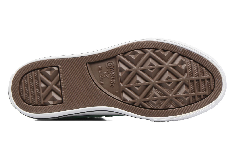 Sneaker Converse Chuck Taylor All Star Hi grün ansicht von oben