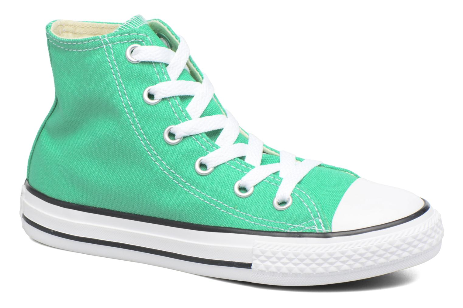 Sneakers Converse Chuck Taylor All Star Hi Groen detail