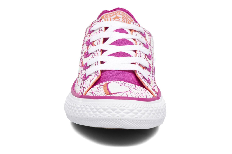 Baskets Converse Chuck Taylor All Star Ox Violet vue portées chaussures