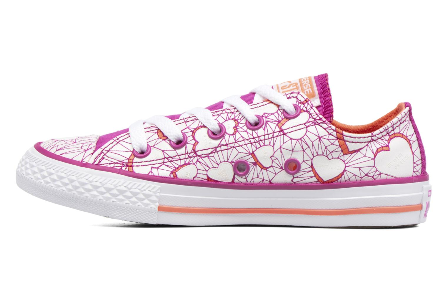 Sneakers Converse Chuck Taylor All Star Ox Paars voorkant