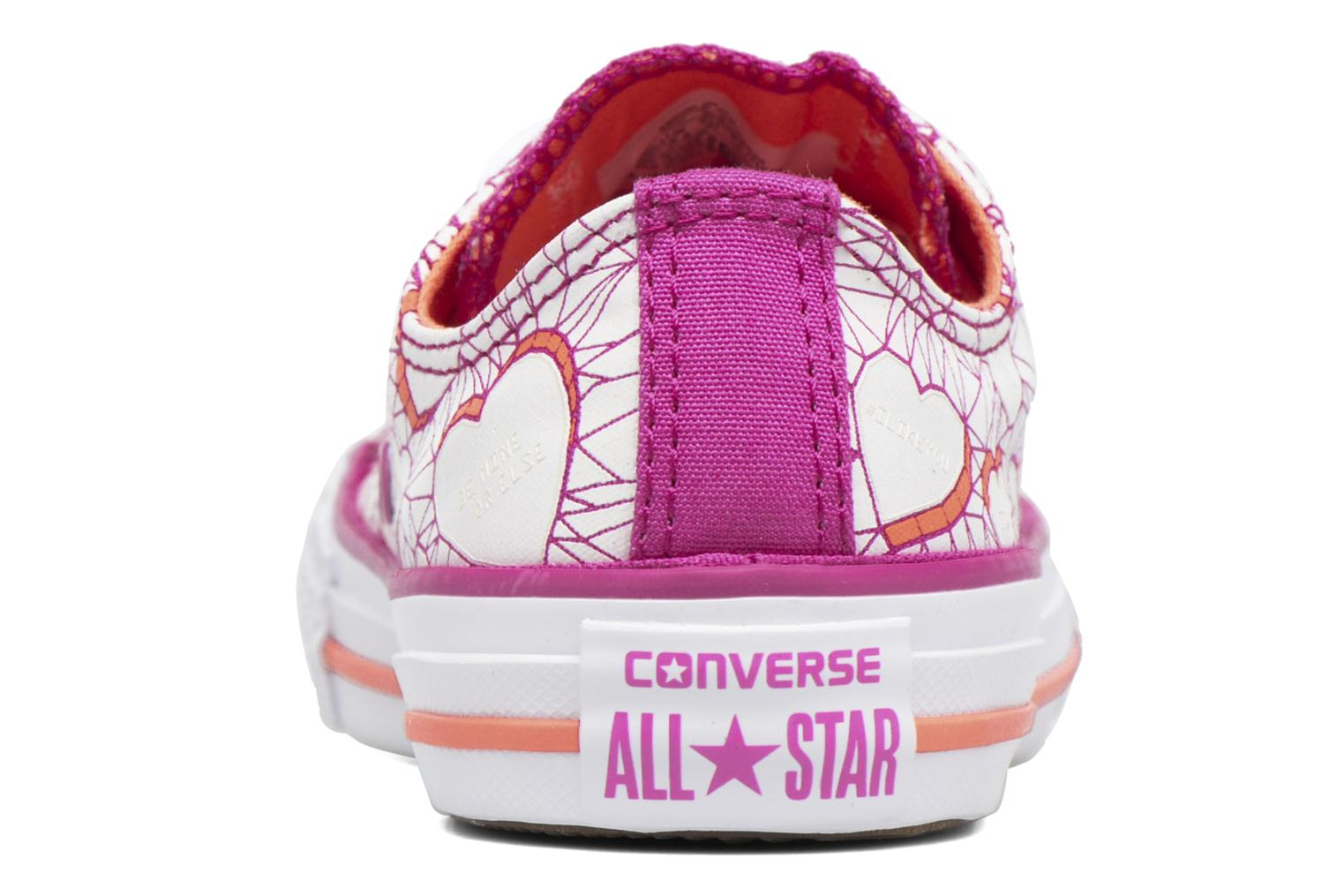 Baskets Converse Chuck Taylor All Star Ox Violet vue droite