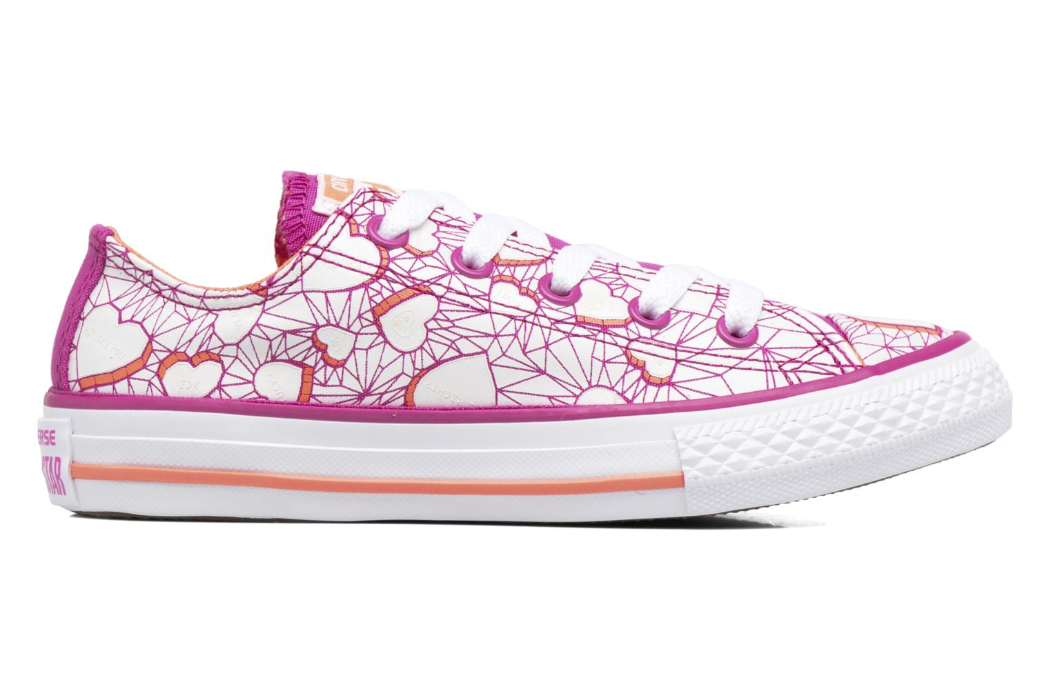 Sneakers Converse Chuck Taylor All Star Ox Paars achterkant