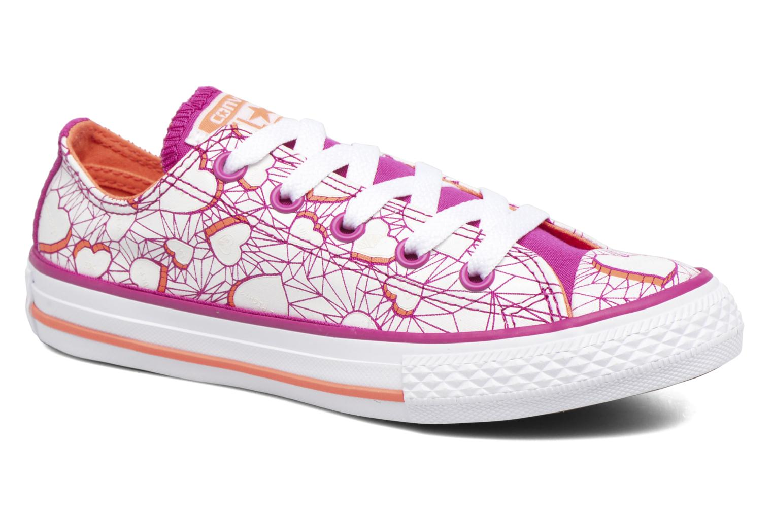 Sneakers Converse Chuck Taylor All Star Ox Paars detail