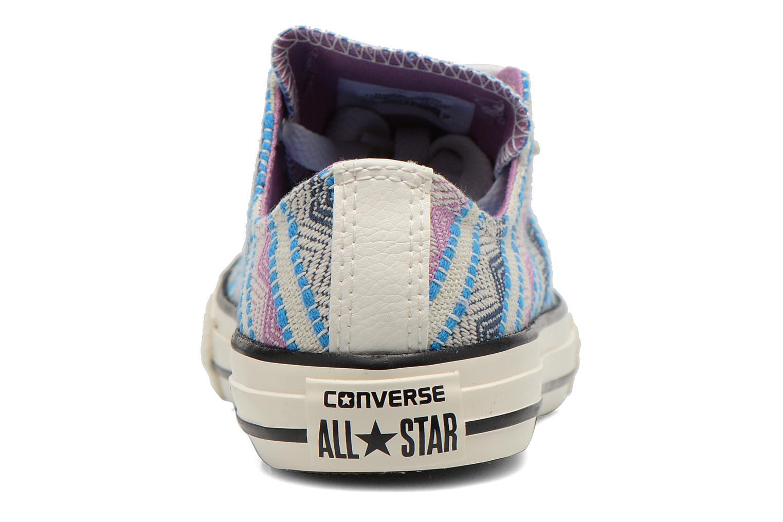 Baskets Converse Chuck Taylor All Star Ox Spray Multicolore vue droite