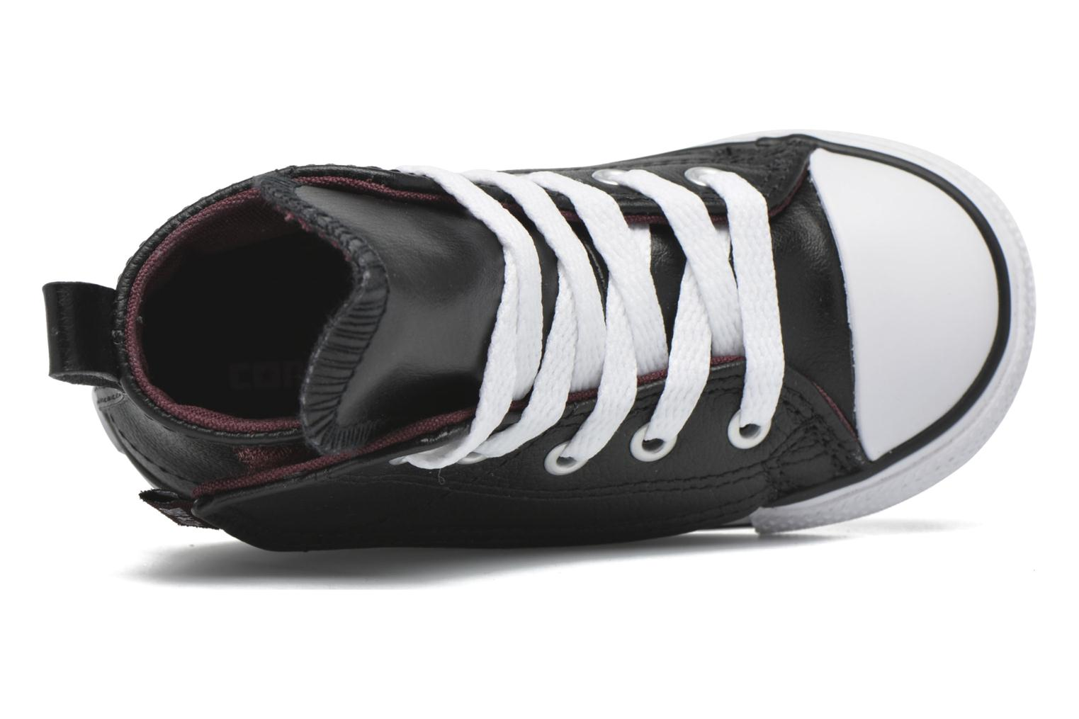 Chuck Taylor All Star Simple Step Hi Black/Bordeaux/White