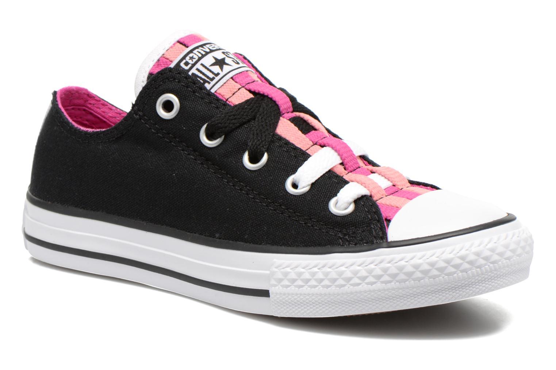 Chuck Taylor All Star Loopholes Slip Black/Plastic Pink