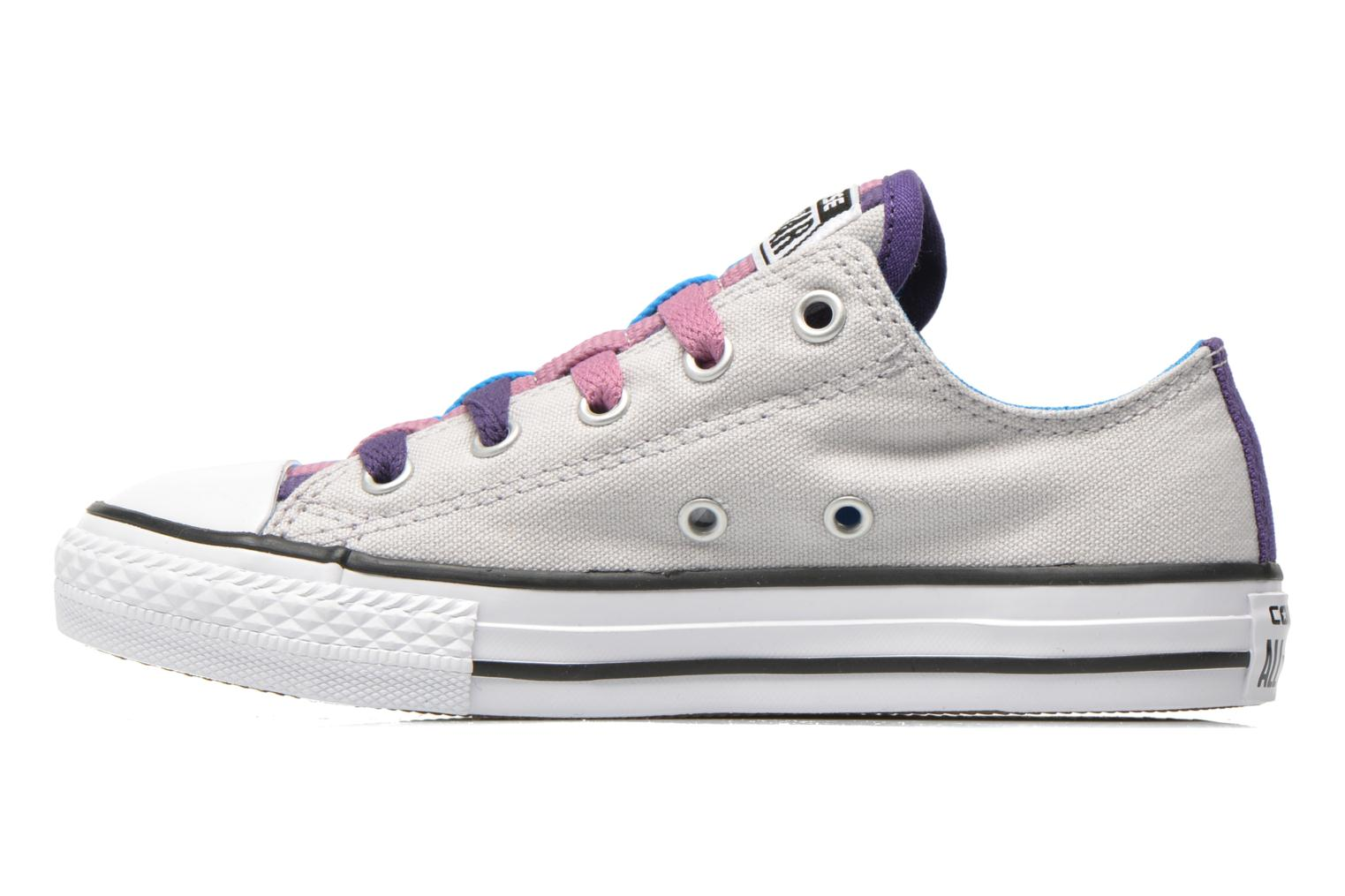 Baskets Converse Chuck Taylor All Star Loopholes Slip Gris vue face