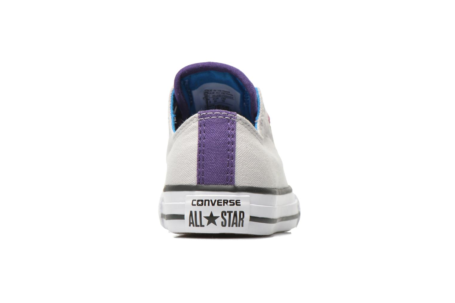 Trainers Converse Chuck Taylor All Star Loopholes Slip Grey view from the right