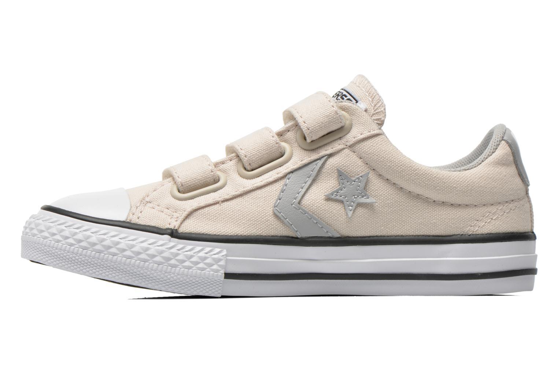 Sneaker Converse Star Player Ev 3V Ox beige ansicht von vorne
