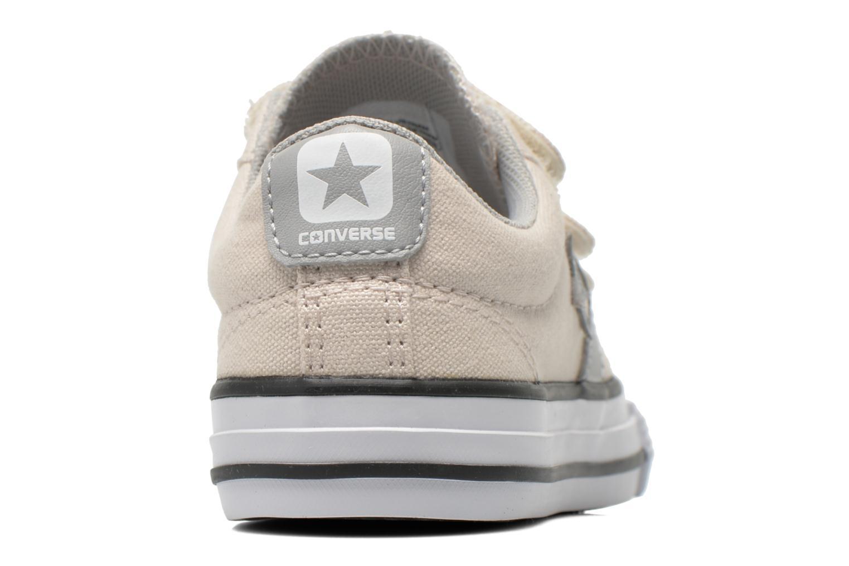 Sneaker Converse Star Player Ev 3V Ox beige ansicht von rechts