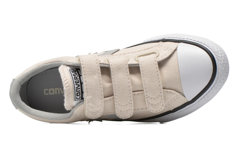 Sneaker Converse Star Player Ev 3V Ox beige ansicht von links