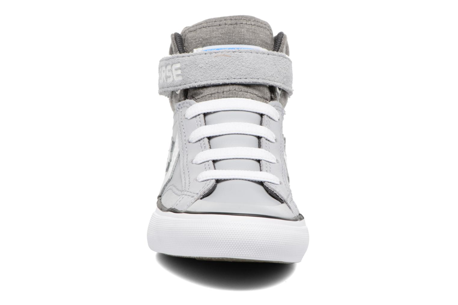 Trainers Converse Pro Blaze Strap Stretch Hi Sport Leather Grey model view