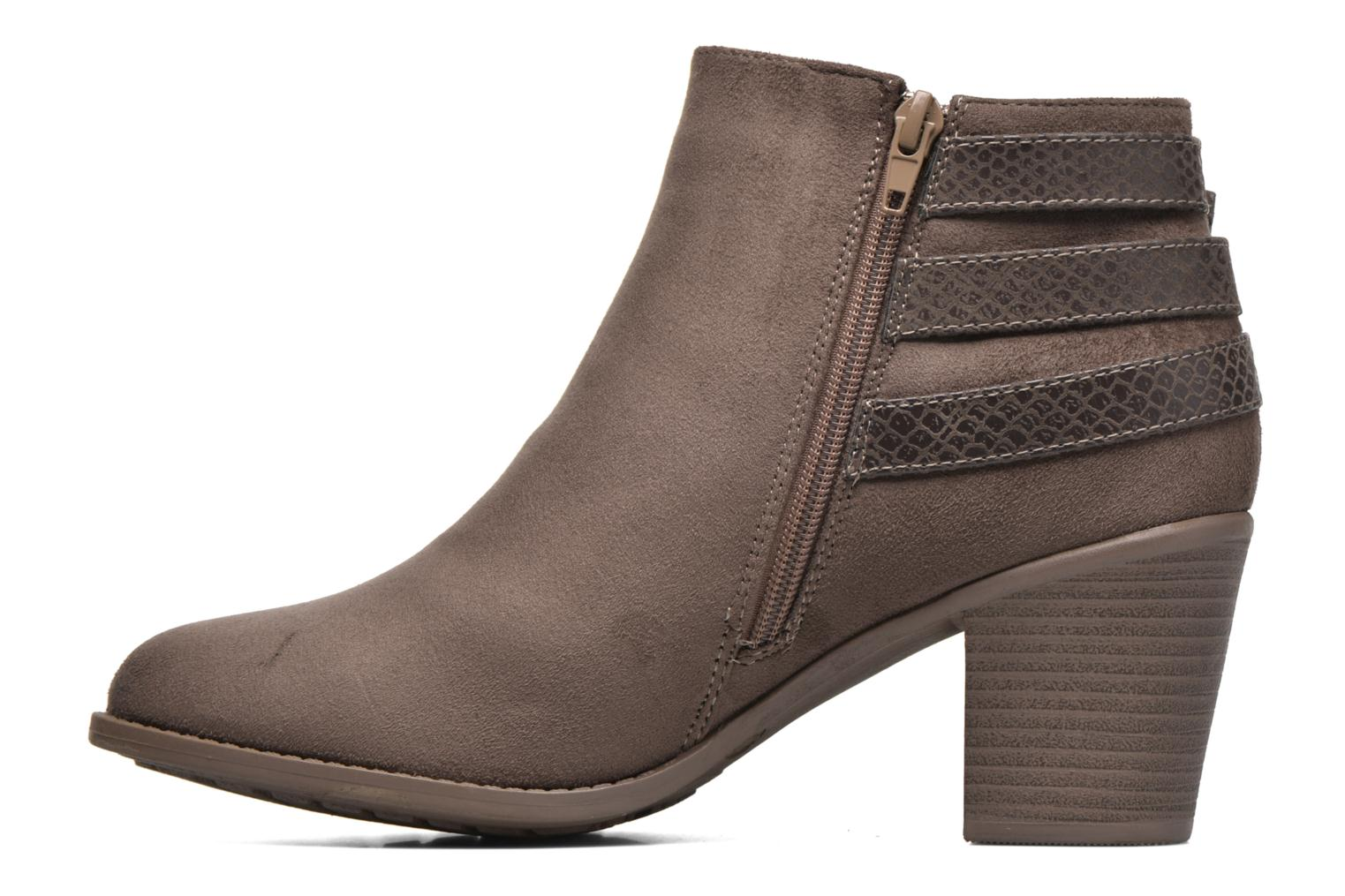Ankle boots I Love Shoes THEVIRE Brown front view