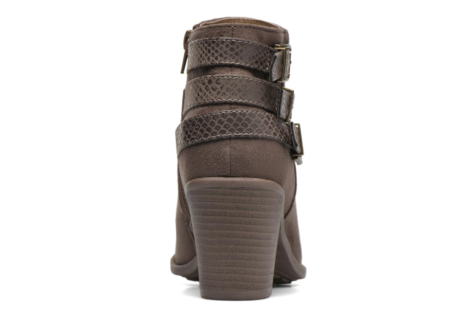 Ankle boots I Love Shoes THEVIRE Brown view from the right