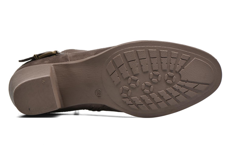 Stiefeletten & Boots I Love Shoes THEVIRE braun ansicht von oben