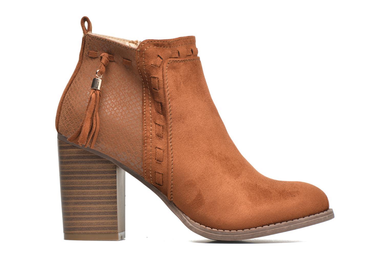Botines  I Love Shoes THANSE Marrón vistra trasera