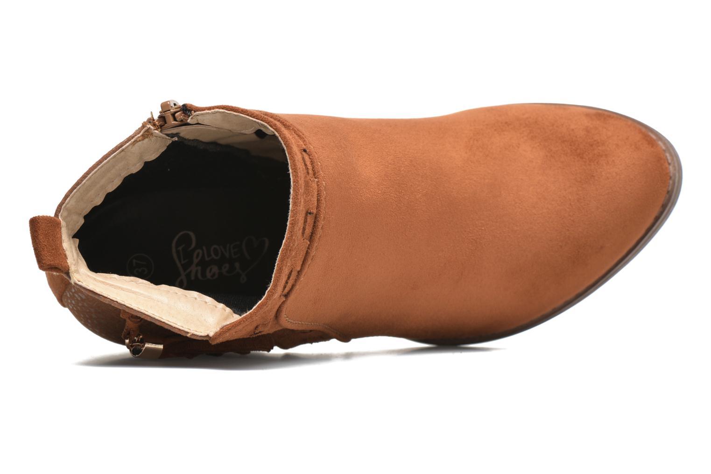 Botines  I Love Shoes THANSE Marrón vista lateral izquierda