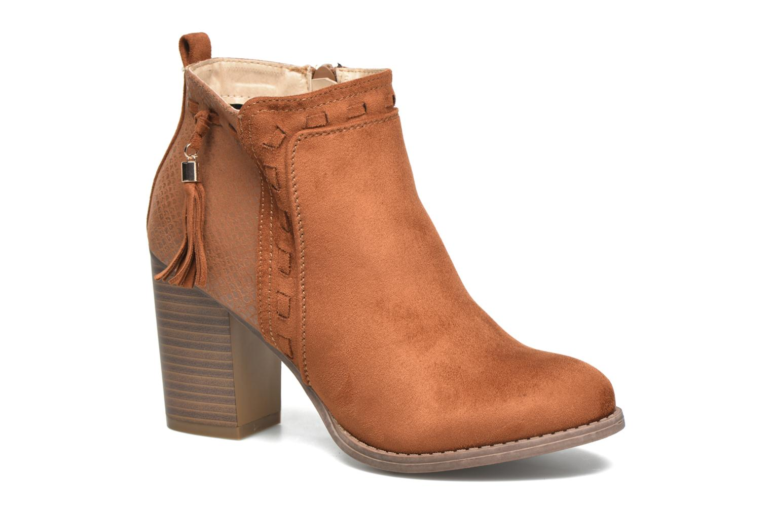 Ankle boots I Love Shoes THANSE Brown detailed view/ Pair view