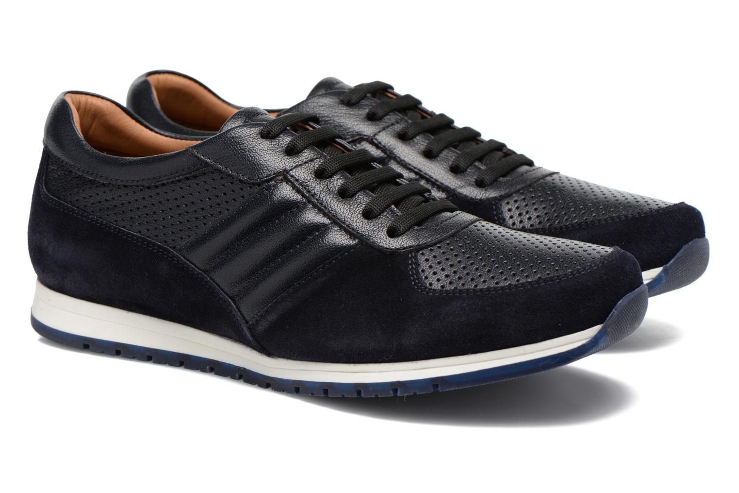Trainers Lagerfeld Friedrich by Lagerfeld Blue 3/4 view