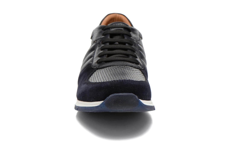 Baskets Lagerfeld Friedrich by Lagerfeld Bleu vue portées chaussures