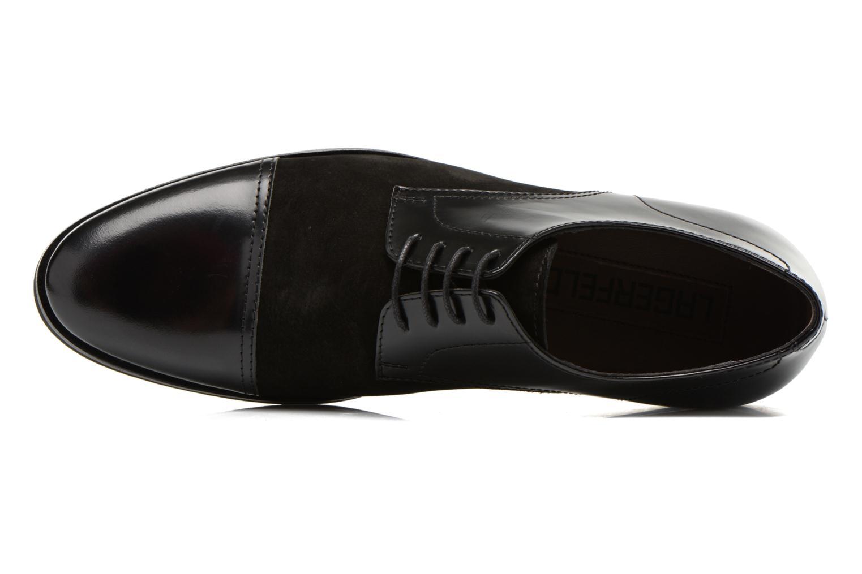 Chaussures à lacets Lagerfeld Etienne by Lagerfeld Noir vue gauche