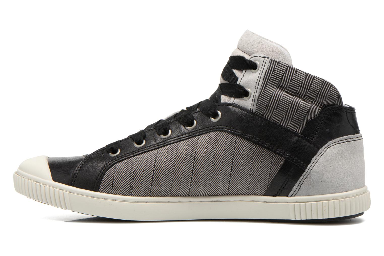 Sneakers Pataugas Bosco F Nero immagine frontale