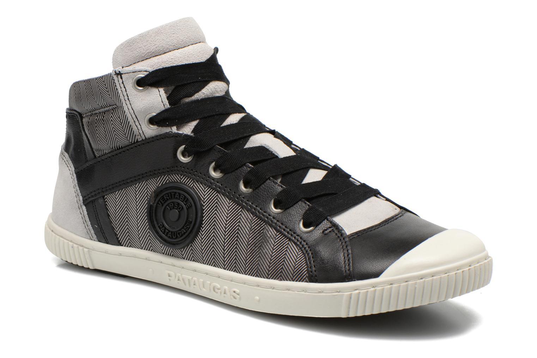 Sneakers Pataugas Bosco F Sort detaljeret billede af skoene