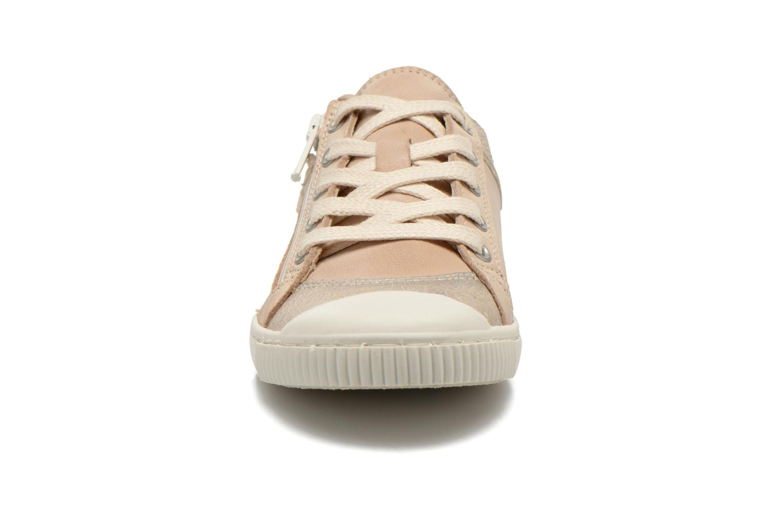 Trainers Pataugas Bisk J Beige model view