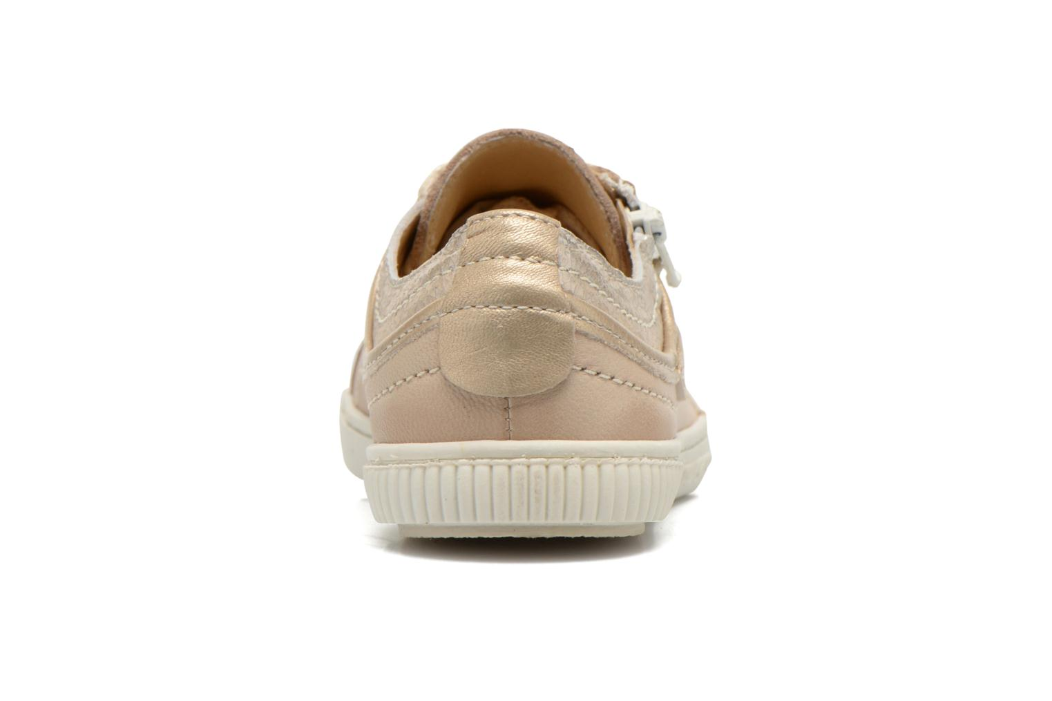 Trainers Pataugas Bisk J Beige view from the right