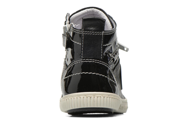 Sneaker Pataugas Banjou J schwarz ansicht von rechts