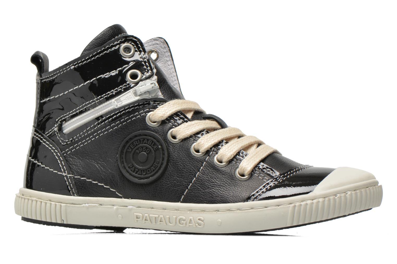 Sneaker Pataugas Banjou J schwarz ansicht von hinten
