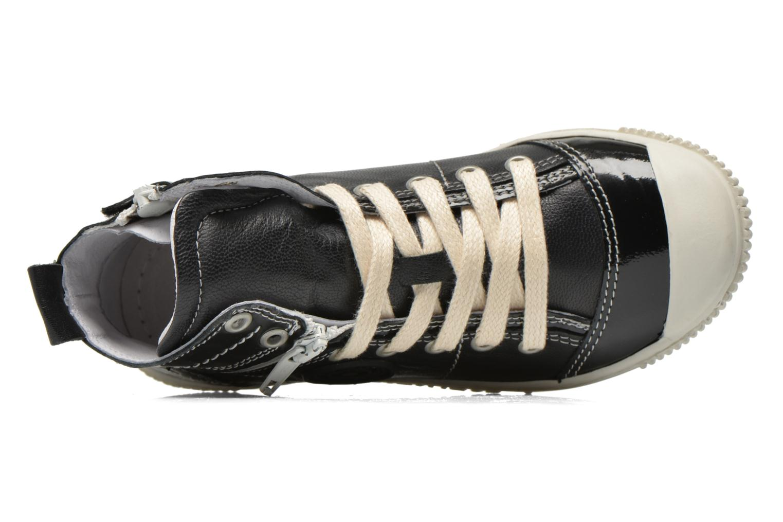 Sneaker Pataugas Banjou J schwarz ansicht von links