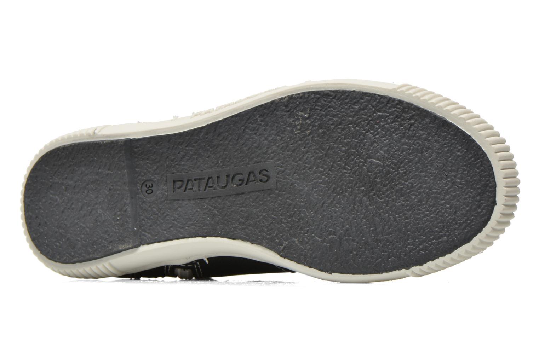 Sneaker Pataugas Banjou J schwarz ansicht von oben