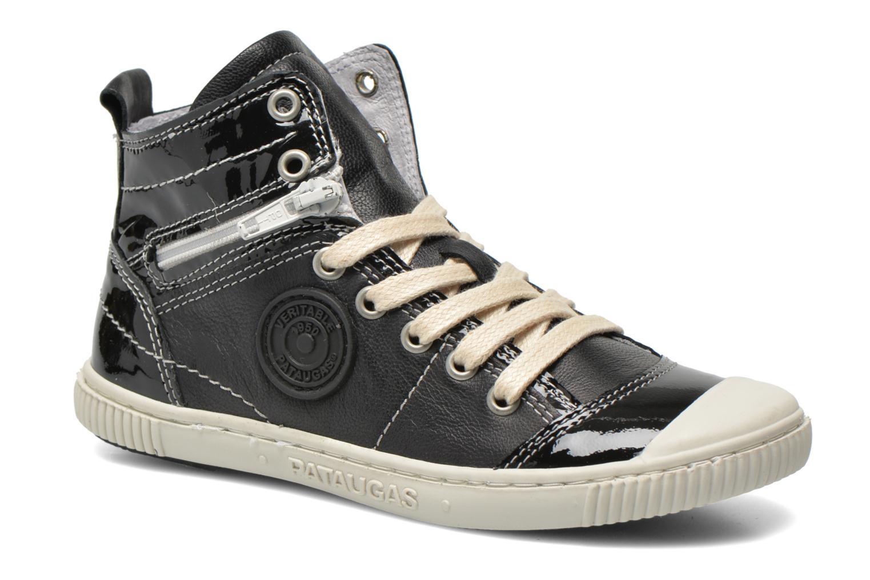 Sneaker Pataugas Banjou J schwarz detaillierte ansicht/modell