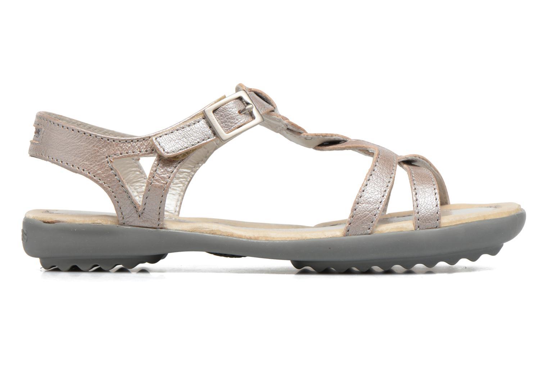 Sandales et nu-pieds Pataugas Claire J Argent vue derrière