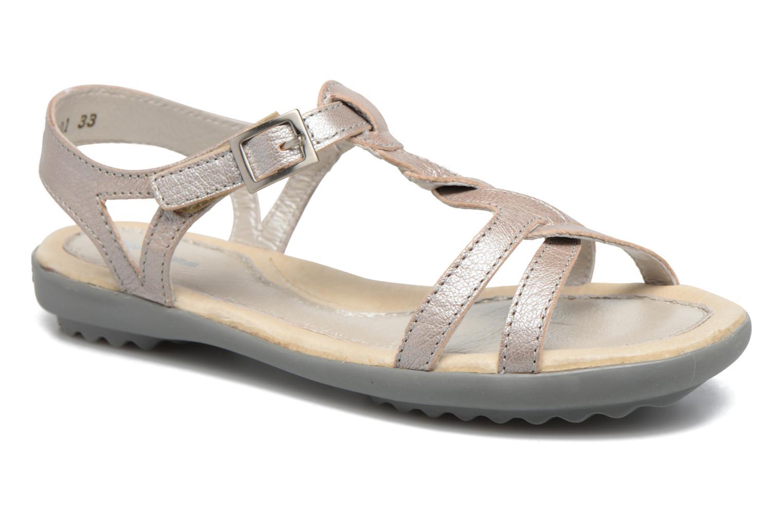 Sandales et nu-pieds Pataugas Claire J Argent vue détail/paire