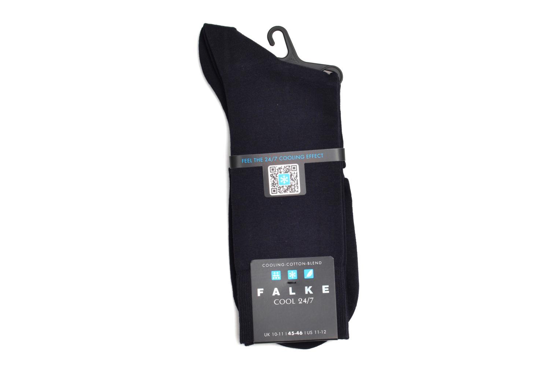Socken & Strumpfhosen Falke Mini-Söckchen COOL 24/7 blau ansicht von hinten
