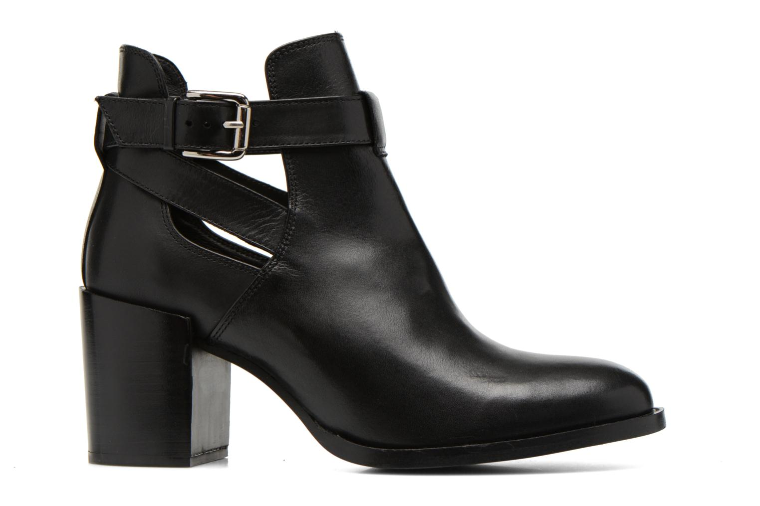 Ankle boots Minelli F80 801 Black back view