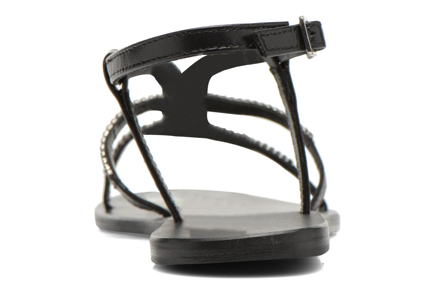 Sandals Minelli F63 802 Black view from the right