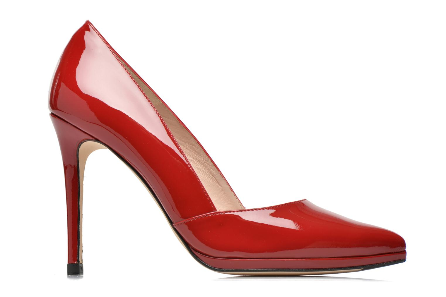 High heels Minelli F91 610/VER Red back view