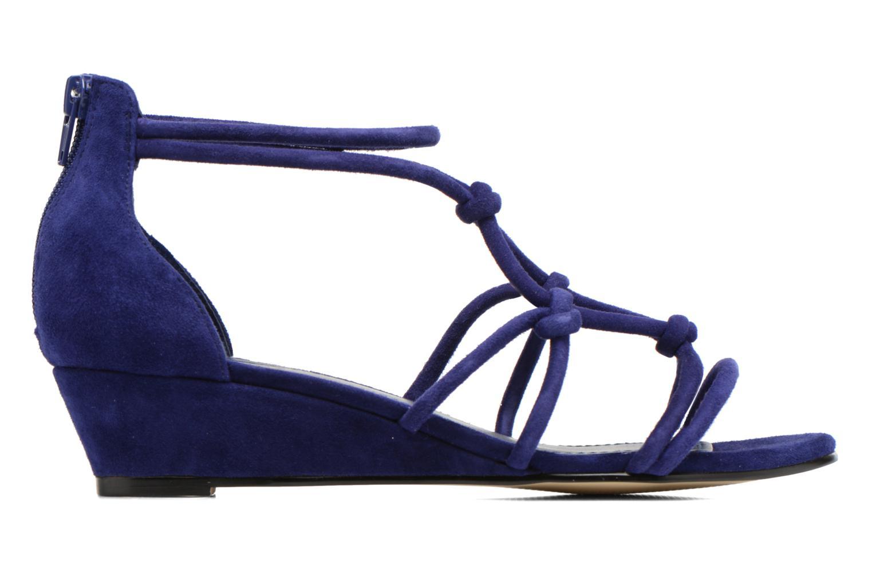Sandales et nu-pieds Minelli F63 820/VEL Bleu vue derrière