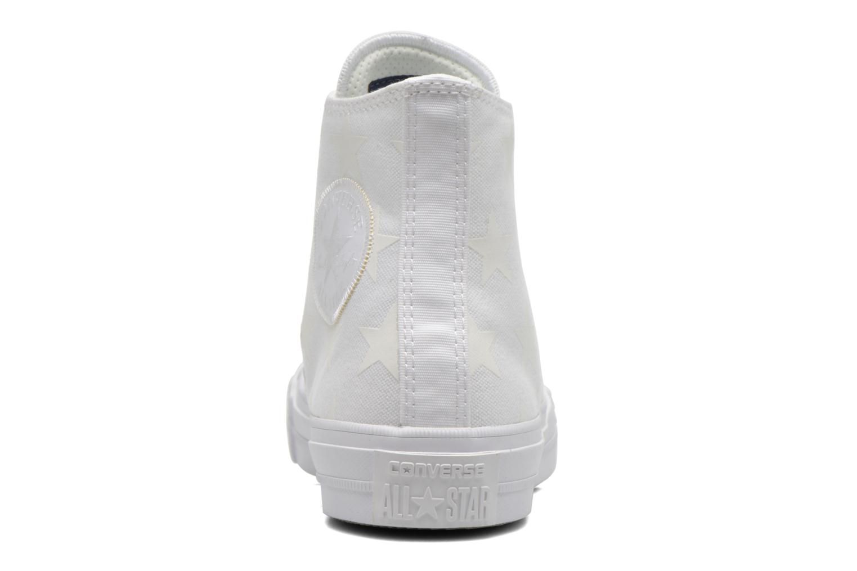 Sneakers Converse Chuck Taylor All Star II Hi W Bianco immagine destra