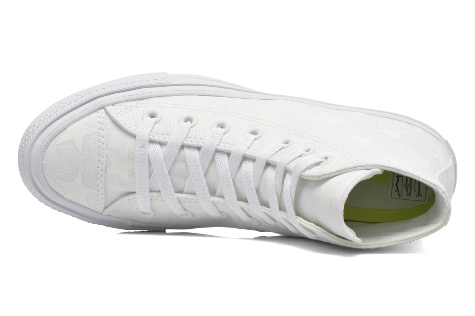 Sneakers Converse Chuck Taylor All Star II Hi W Bianco immagine sinistra