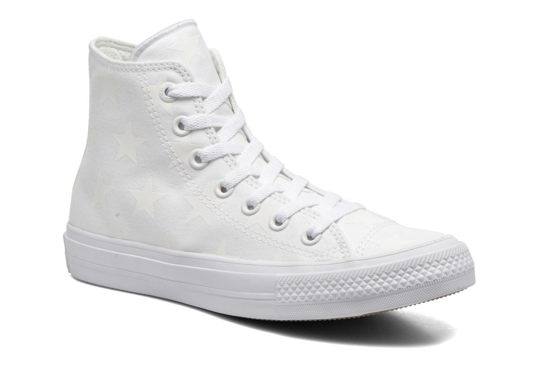 Sneakers Converse Chuck Taylor All Star II Hi W Hvid detaljeret billede af skoene