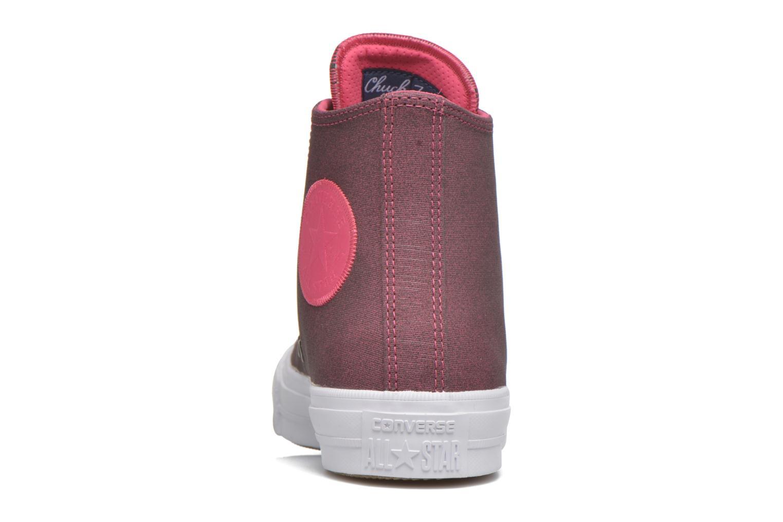 Sneaker Converse Chuck Taylor All Star II Hi W rosa ansicht von rechts