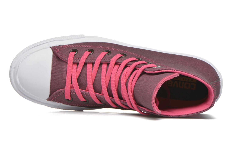 Sneaker Converse Chuck Taylor All Star II Hi W rosa ansicht von links
