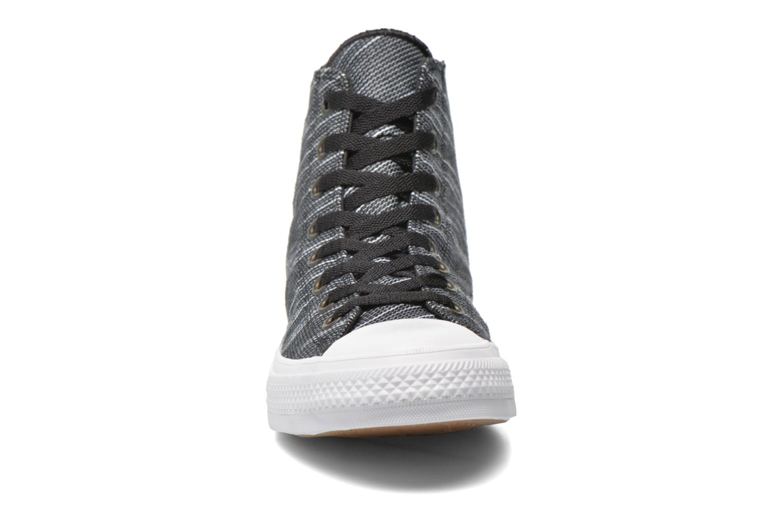 Sneaker Converse Chuck Taylor All Star II Hi M schwarz schuhe getragen